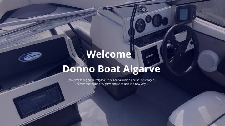 L'Algarve en bateau privé – Donno Boat