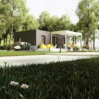Cottage, mobile home, une pièce supplémentaire