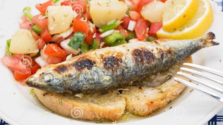 Cuisine – sardinhas assadas